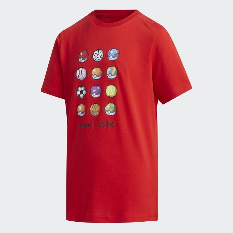 """Camiseta """"Pokebolas"""" - vermelha Divulgação"""