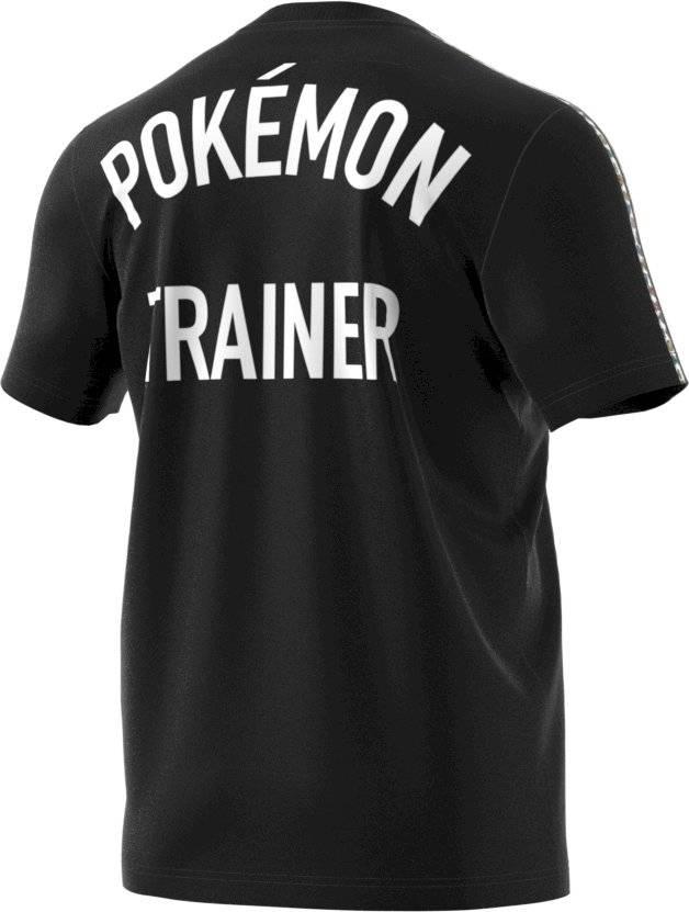 """Camiseta """"Treinador Pokémon"""" - preta Divulgação"""