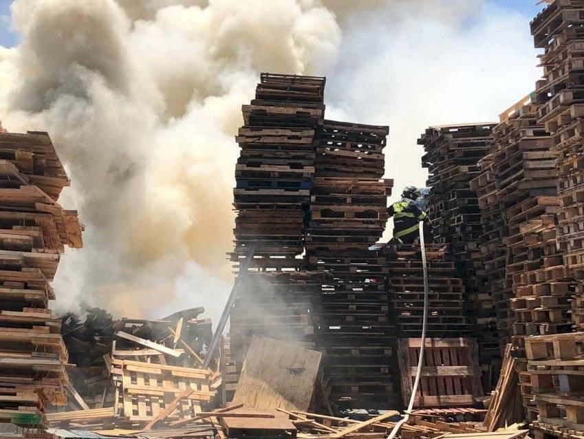 Imágenes del incendio en San Antonio/CBQ