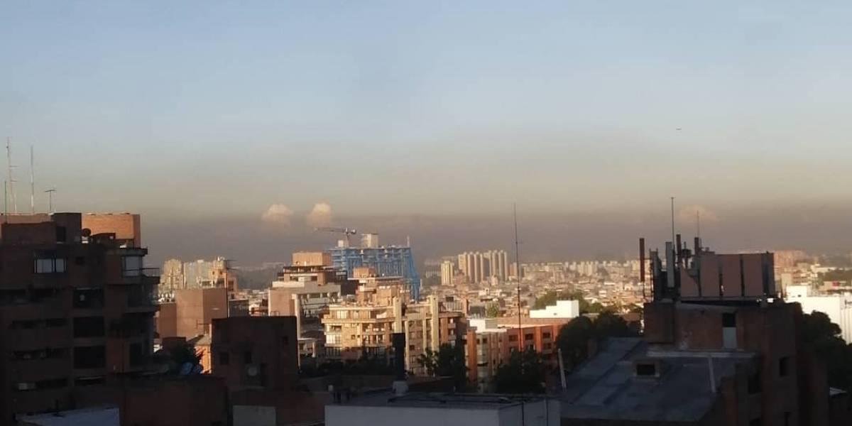 Continúa la alerta ambiental por calidad del aire en Bogotá