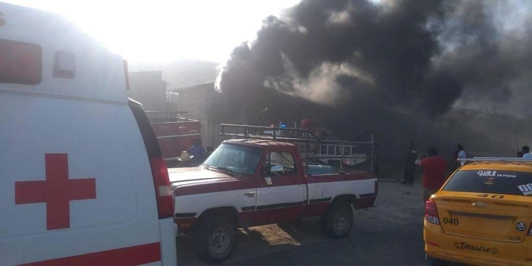 Incendio Salina Cruz