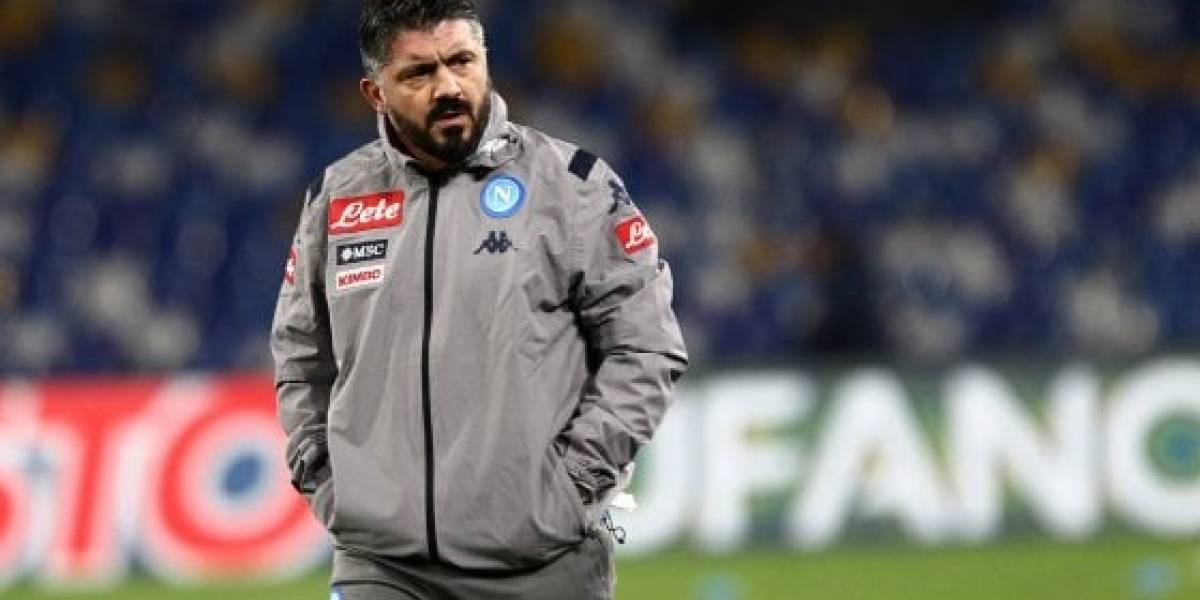 Gennaro  Gattuso casi golpea a un mesero por una broma