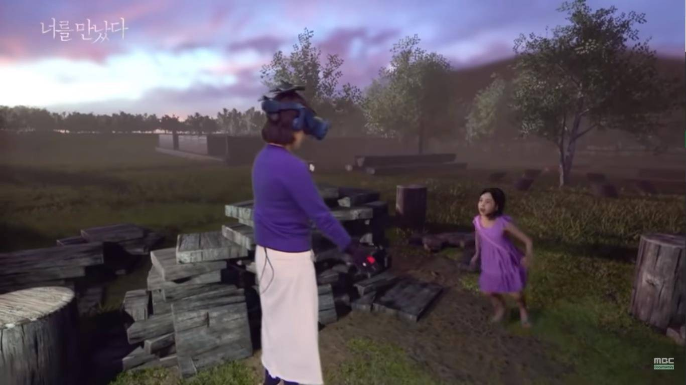 Mujer se reencuentra con su hija fallecida gracias a la realidad virtual