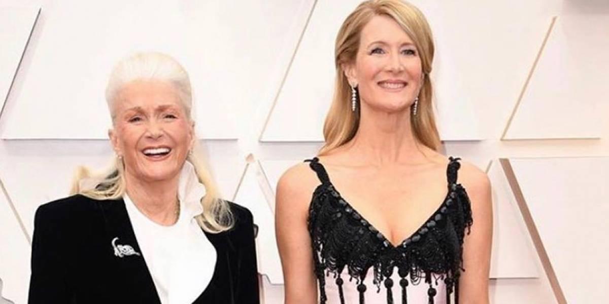 El momento más tierno de los Oscar 2020: madre de Laura Dern llora de alegría al ver triunfar a su hija