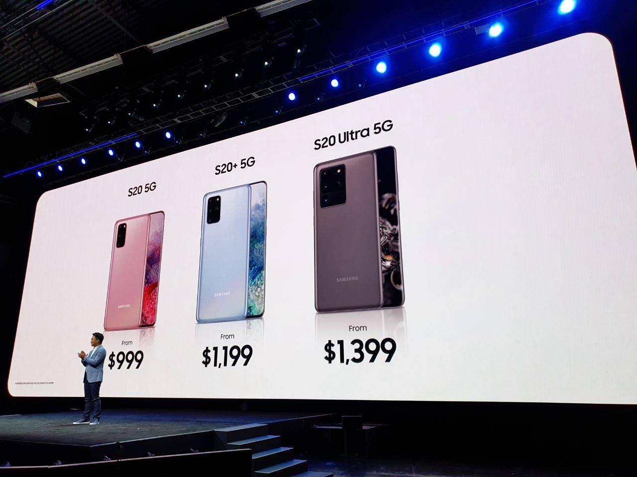 Conoce los Samsung Galaxy S20 y S20+, además de los nuevos audífonos Galaxy Buds+