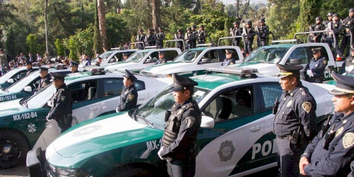 Detienen a 9 policías de la CDMX por secuestro exprés