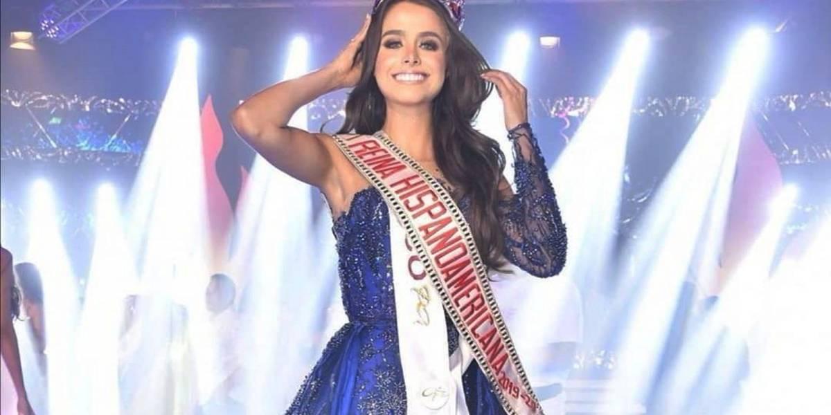 Regina Peredo consigue la primera corona de México en el concurso Reina Hispanoamericana