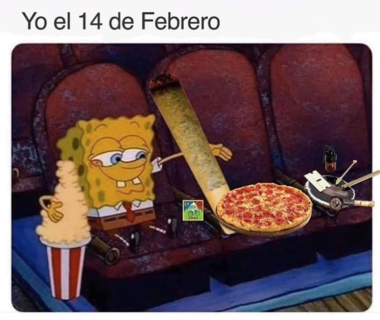 14 de Febrero memes