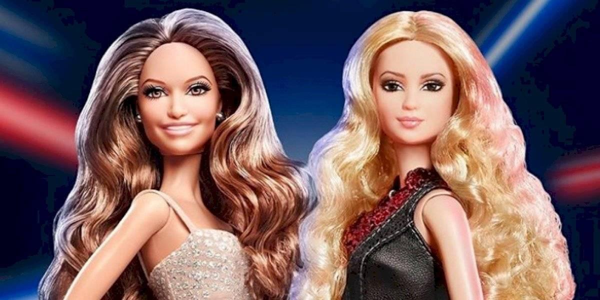 Barbie lanza muñecas de JLo y Shakira