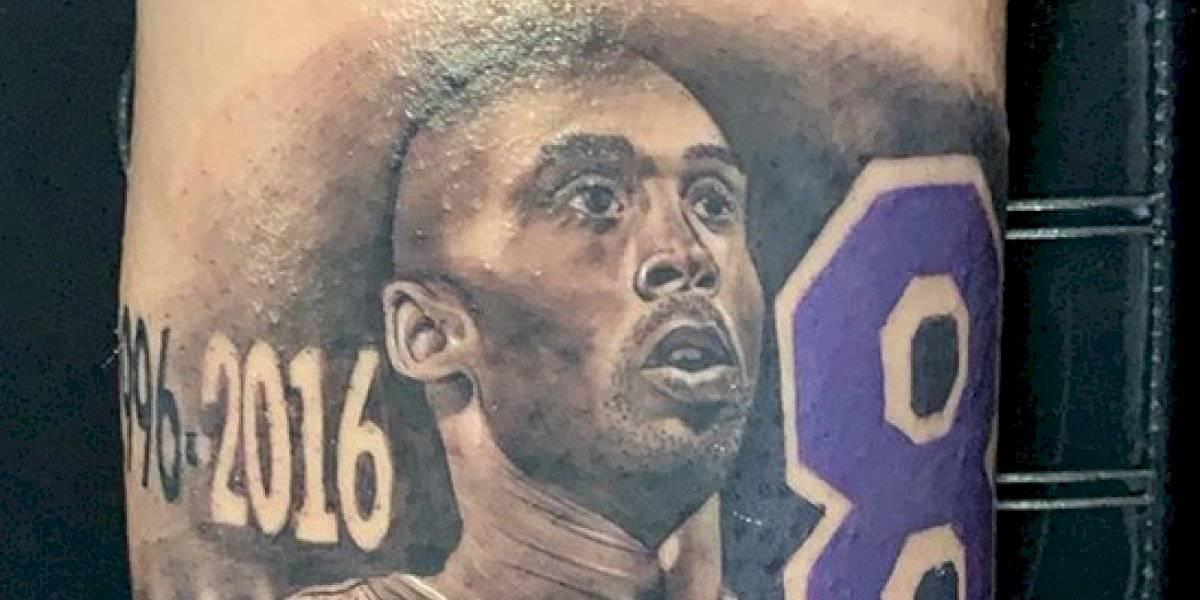 Se desata la fiebre por los tatuajes de Kobe Bryant en Los Ángeles