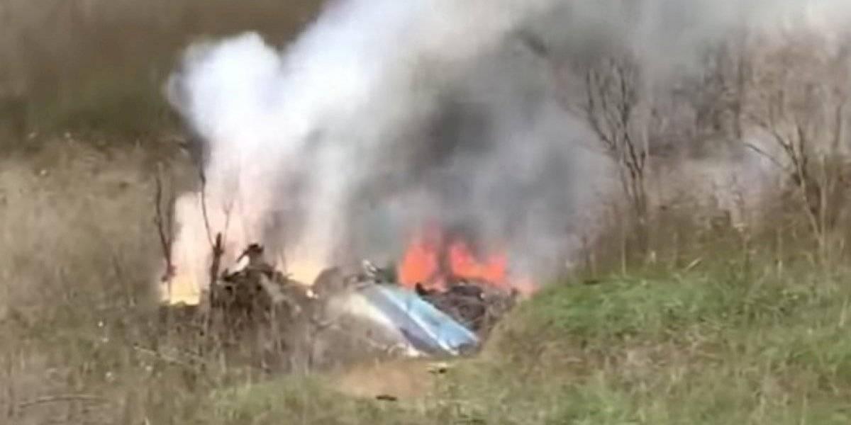 VIDEO: Revelan nuevas imágenes del accidente de Kobe Bryant