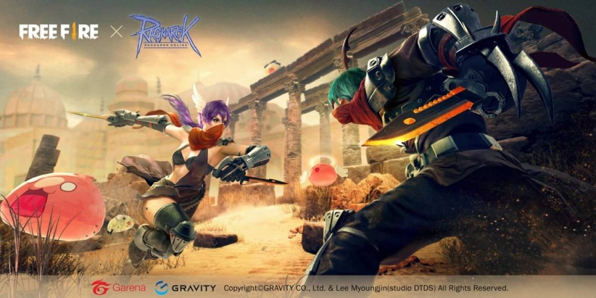 Battle Royale: Free Fire terá evento temático de Ragnarok Online