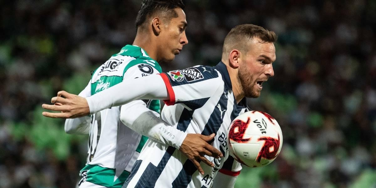 Rayados saca empate ante Santos en la ida de la Copa