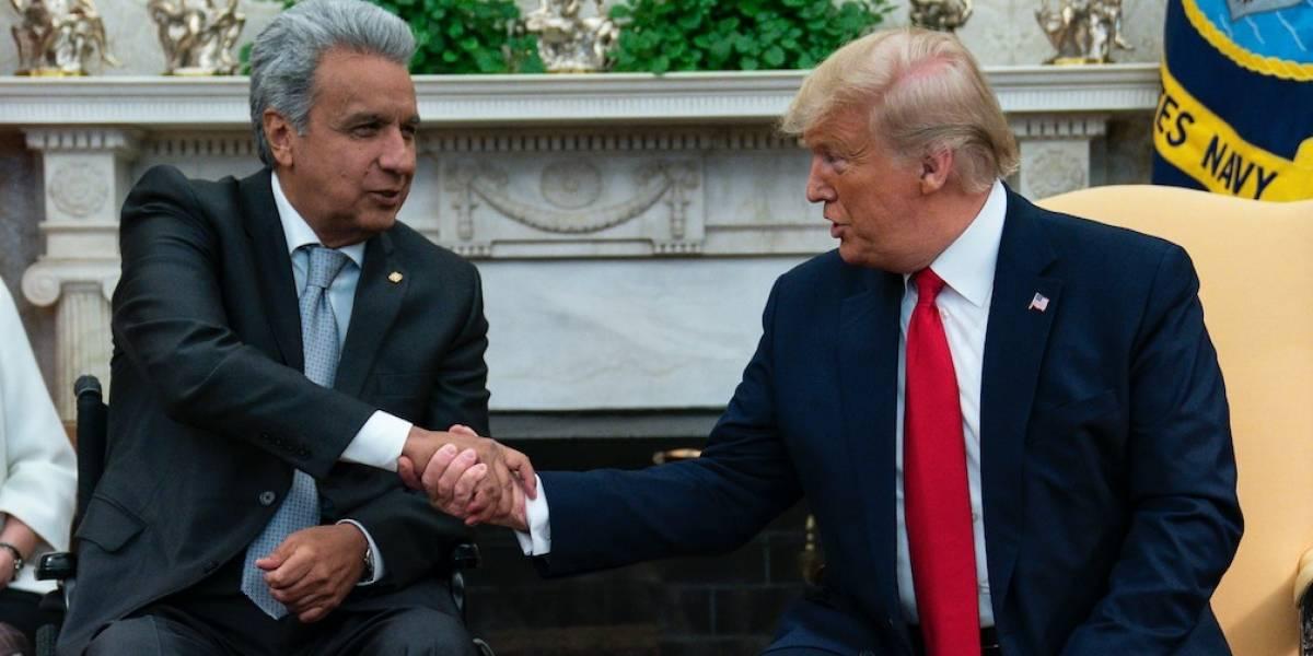"""Donald Trump sobre Ecuador: """"Tienen productos increíbles. Estamos trabajando en grandes acuerdos"""""""