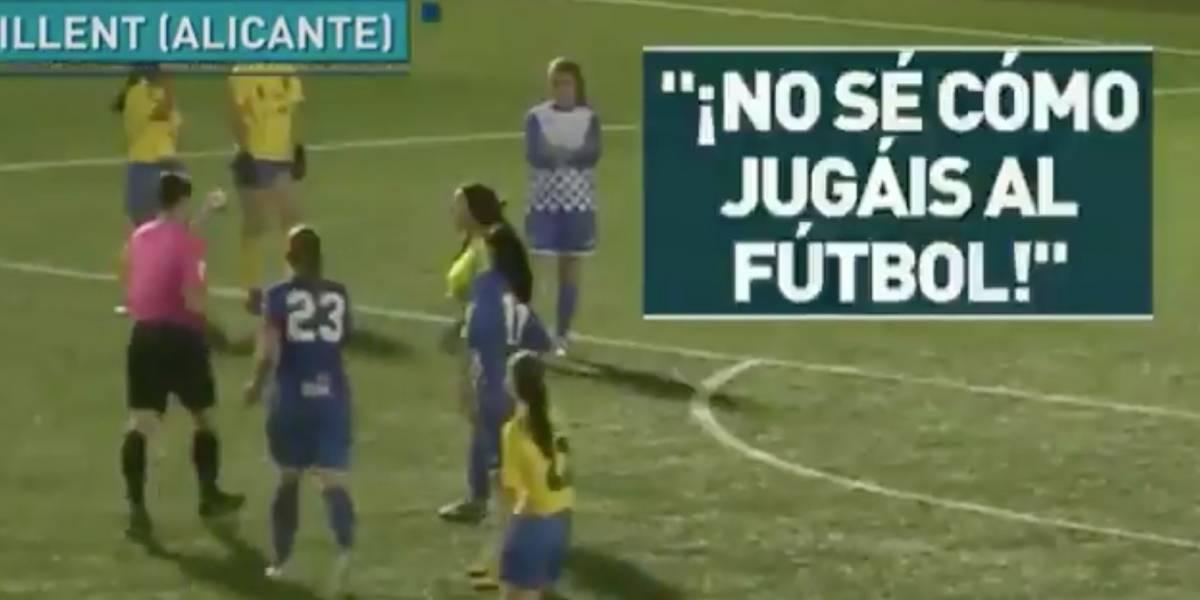VIDEO | Por insultos machistas del árbitro, jugadoras se negaron a continuar el partido