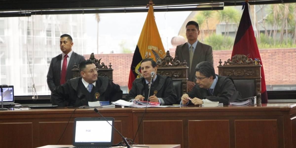 Caso Sobornos: Se suspende audiencia por demanda de recusación interpuesta por la defensa de Rafael Correa