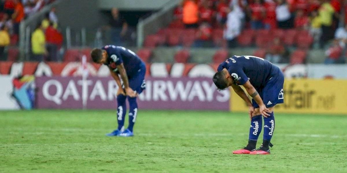 La U sumó un nuevo fracaso dentro de su preocupante registro en Copa Libertadores