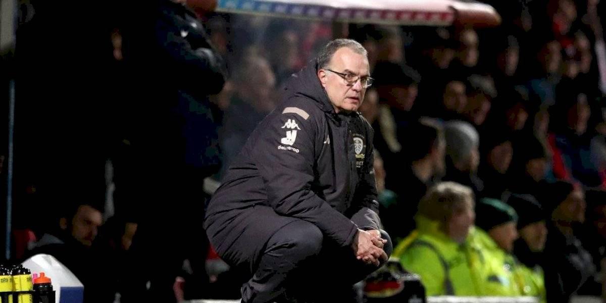 Leeds de Bielsa regaló otro gol y nuevamente dejó escapar valiosos puntos en la lucha por el ascenso