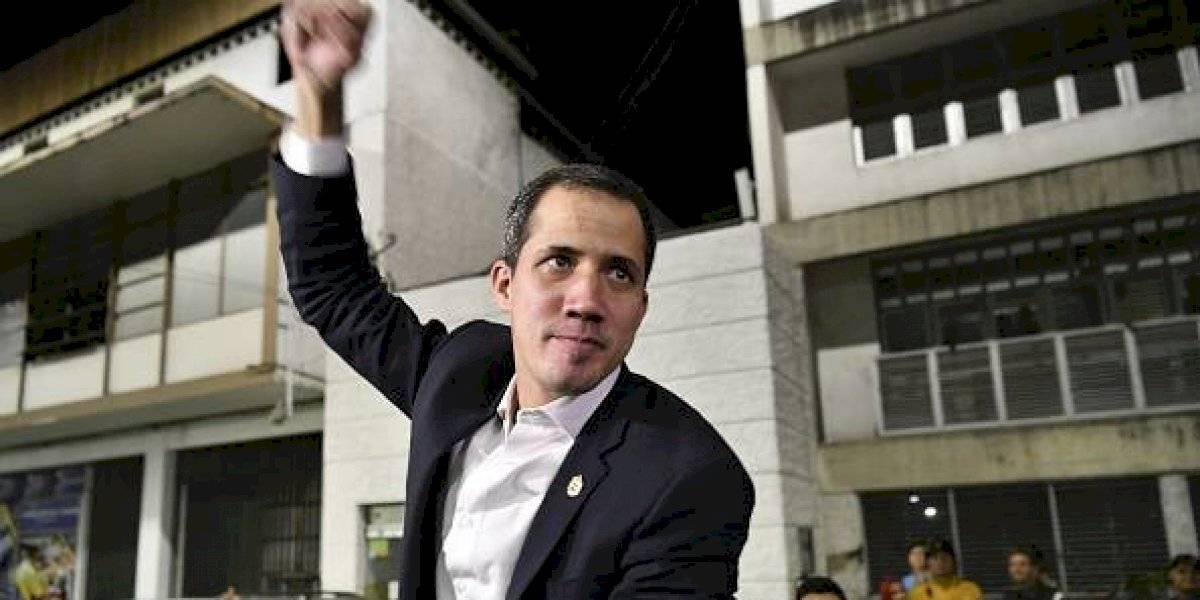 Juan Guaidó fue agredido en el aeropuerto de Venezuela