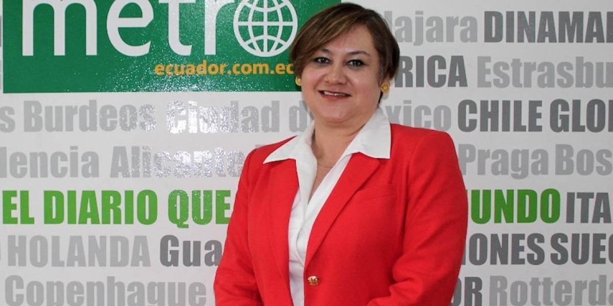 """Lorena Sandoval, una ecuatoriana """"volando alto"""" en American Airlines"""
