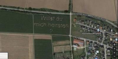 propuesta de matrimonio Google Maps