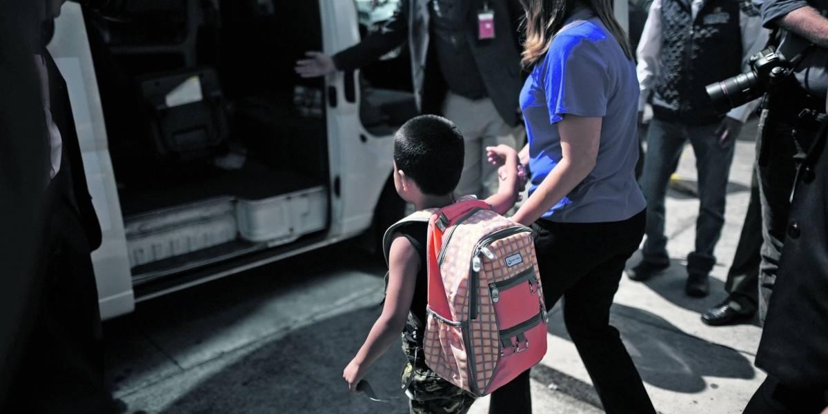 Menores retornados son trasladados a albergue en espera de resultados de Covid-19
