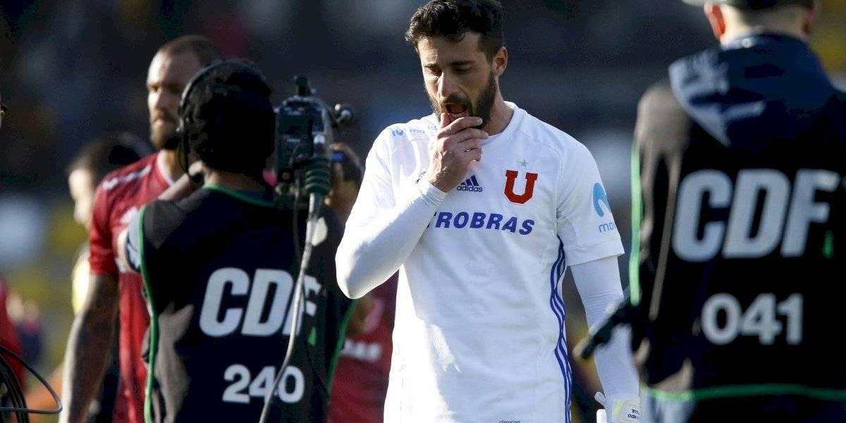 De Paul vivió y vive días complicados: no pudo jugar por Libertadores y su regreso a la U está en estudio