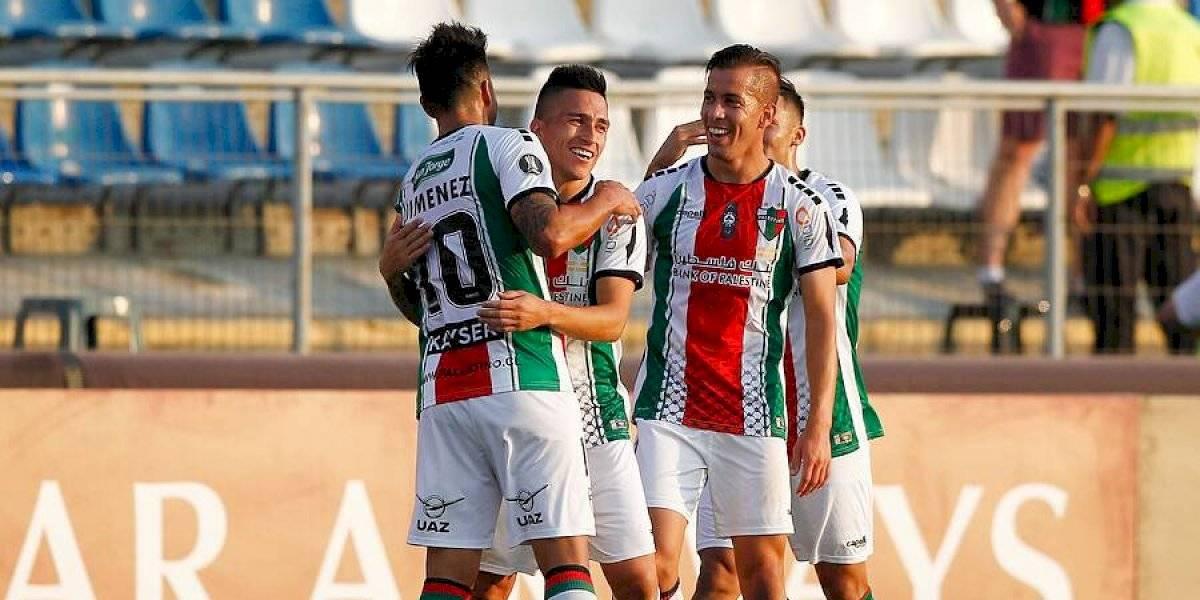 Palestino mostró toda su experiencia para golear a Cerro Largo y clasificar en la Copa Libertadores