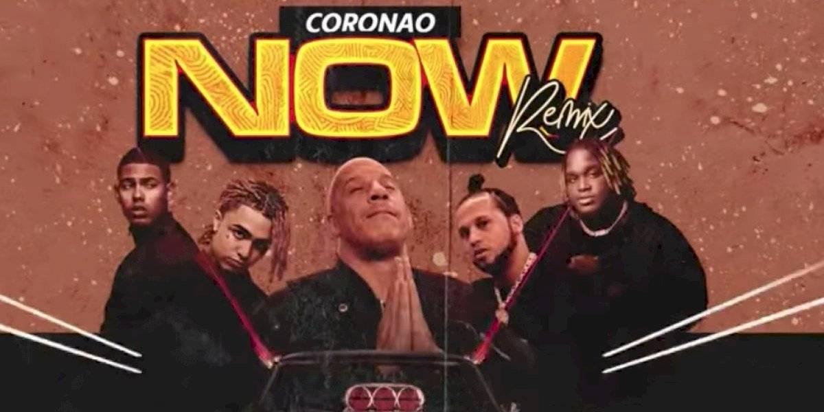 """Estrenan remix de """"Coronao"""" con Vin Diesel"""