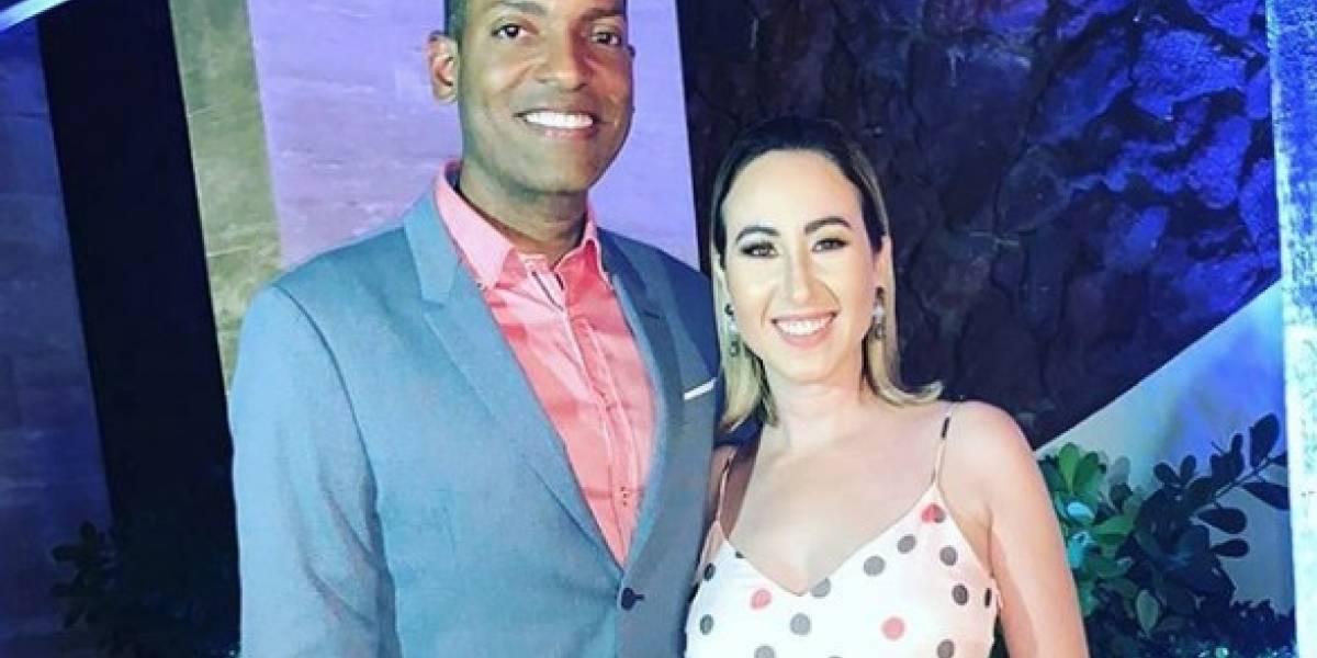 """Julio Rivera Saniel y Milly Méndez celebran a """"su mejor regalo"""""""