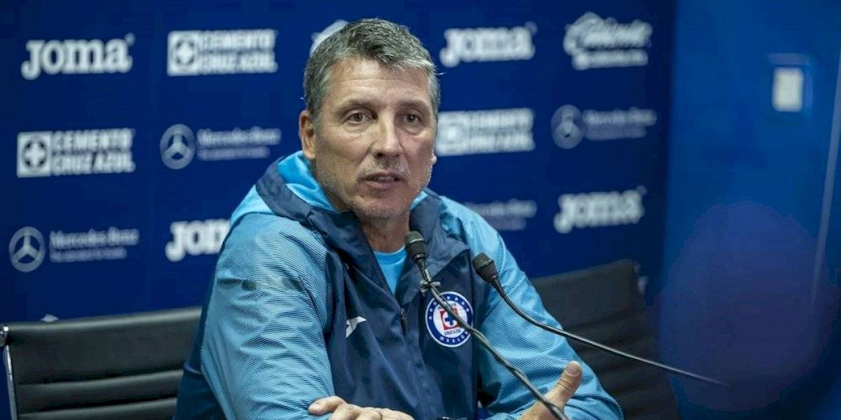 'Cruz Azul no tiene techo': Robert Siboldi