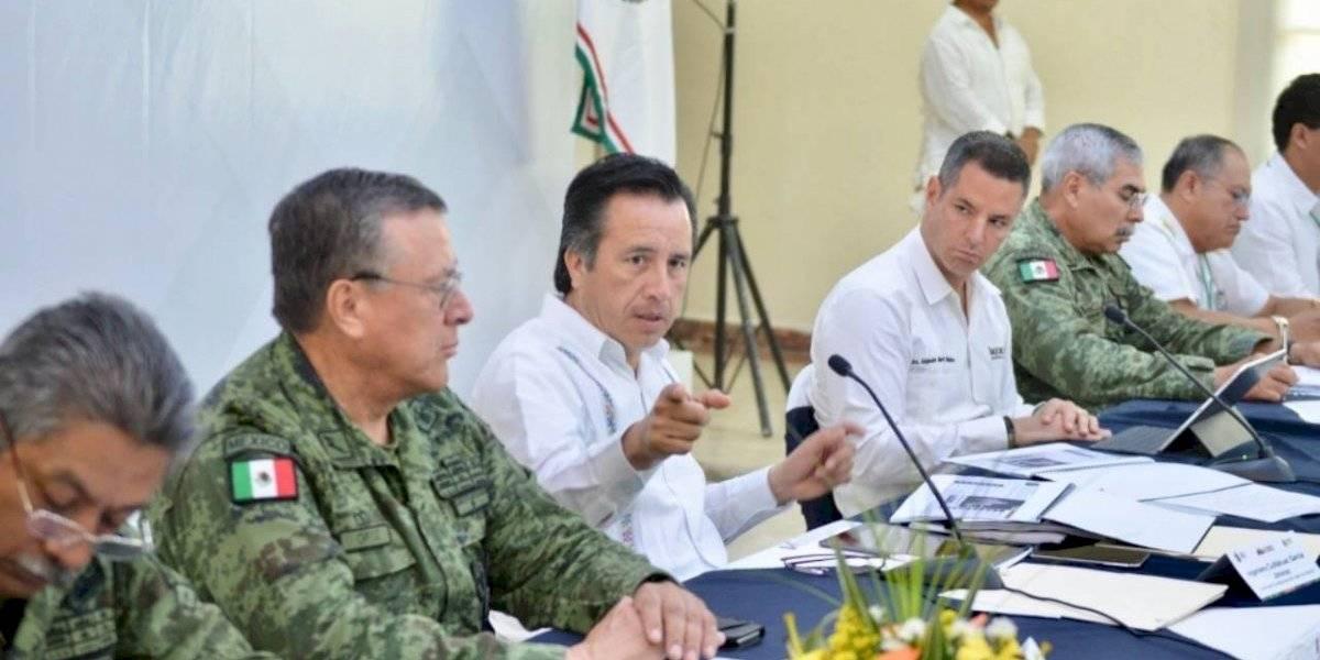 Cuitláhuac García y Alejandro Murat acuerdan estrategia de seguridad