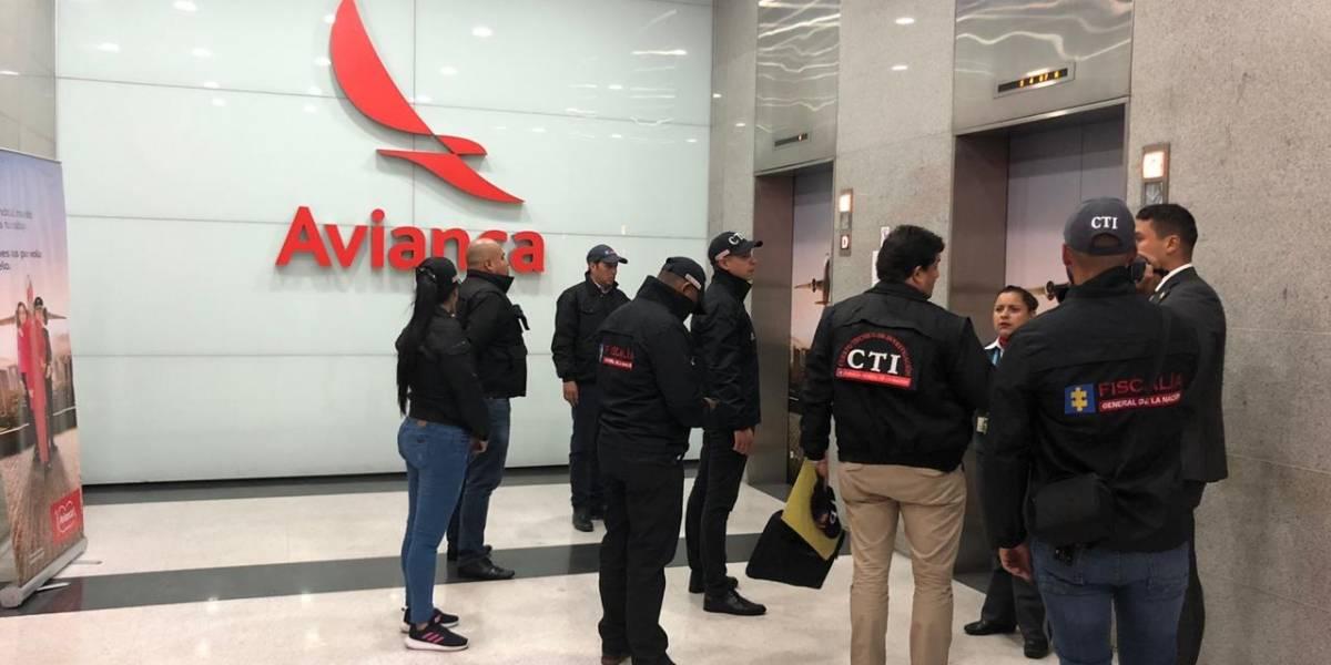 Fiscalía allanó las oficinas de Avianca Holdings