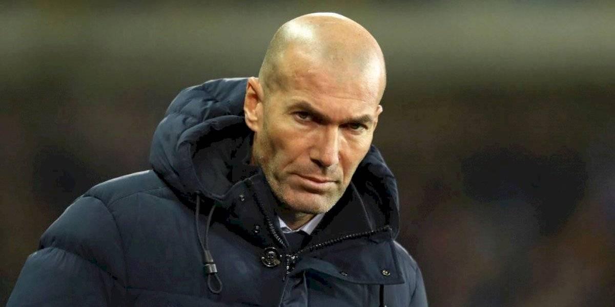 Zinedine Zidane 'resuelve' choque con una selfie