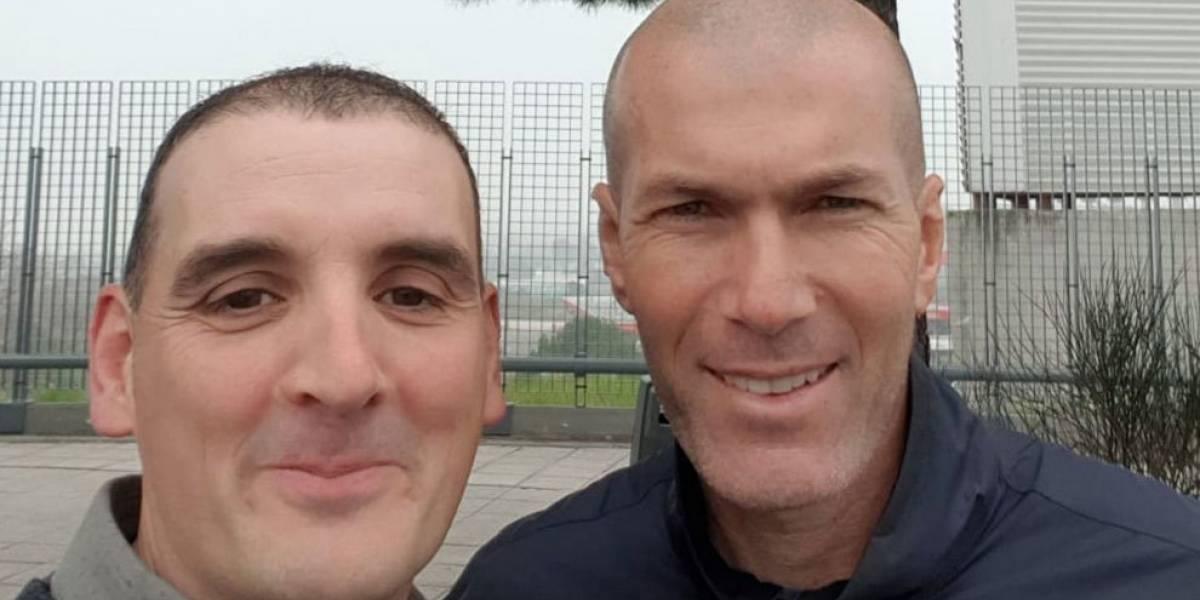 """Chocó con Zidane y se pasó pa' la punta: """"Le dije que si quería quedaba todo en nada, que cambiábamos allí los coches y listo"""""""