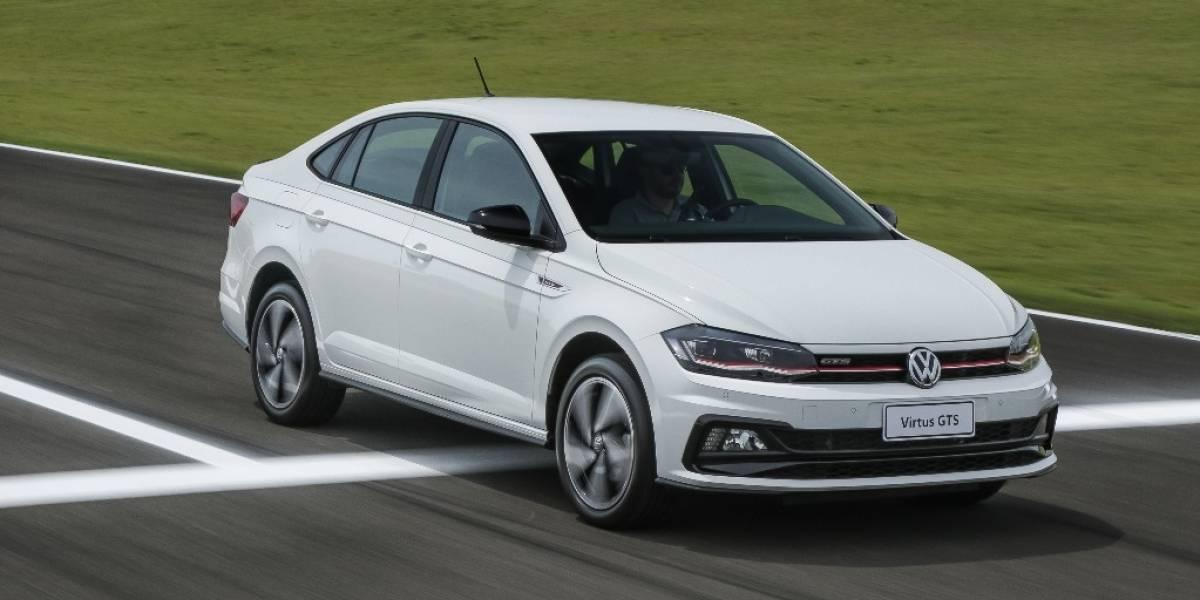 Volkswagen Virtus é o primeiro sedã a receber sigla esportiva GTS
