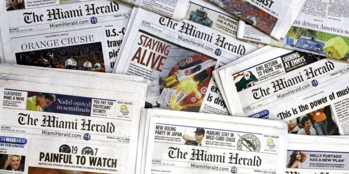 Dueña del Miami Herald se declara en bancarrota