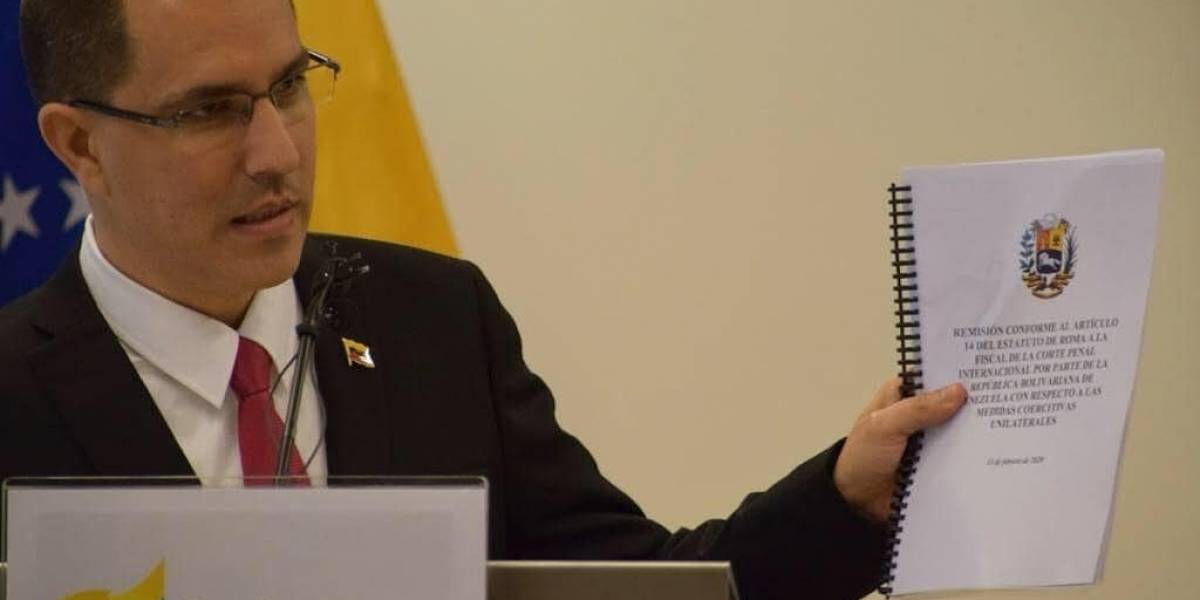 Régimen de Maduro denuncia ante el TPI las sanciones estadounidenses