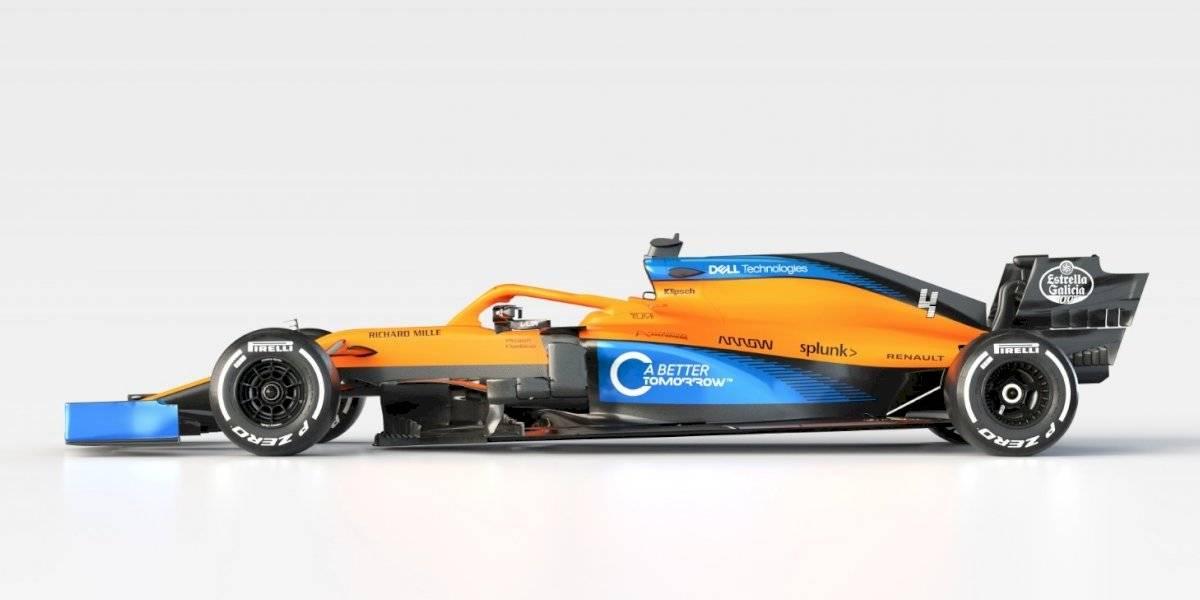 McLaren presentó su nuevo MCL35 para la temporada 2020 de la Fórmula 1