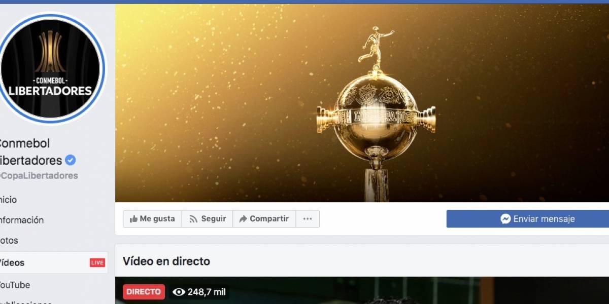 Sporting Cristal vs Barcelona SC: Usuarios en Twitter critican transmisión de Facebook Watch en Copa Libertadores
