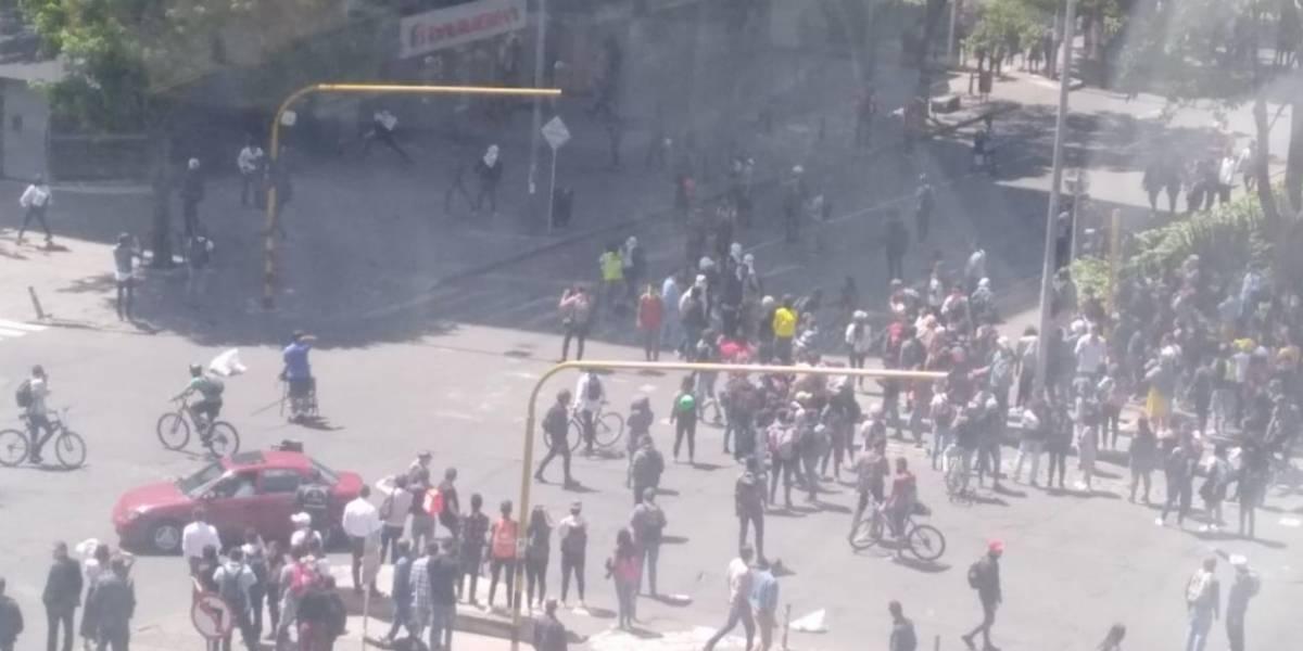 (VIDEO) Grave situación de orden público en el norte de Bogotá