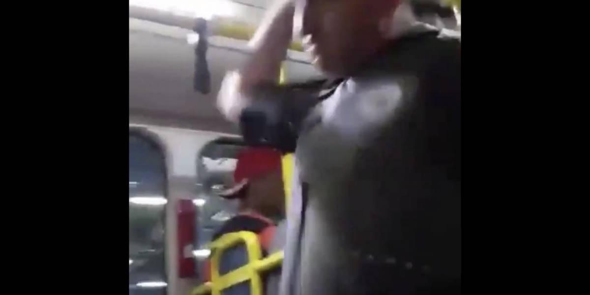 PM afasta tenente que agrediu e ofendeu passageiros em ônibus de São Paulo