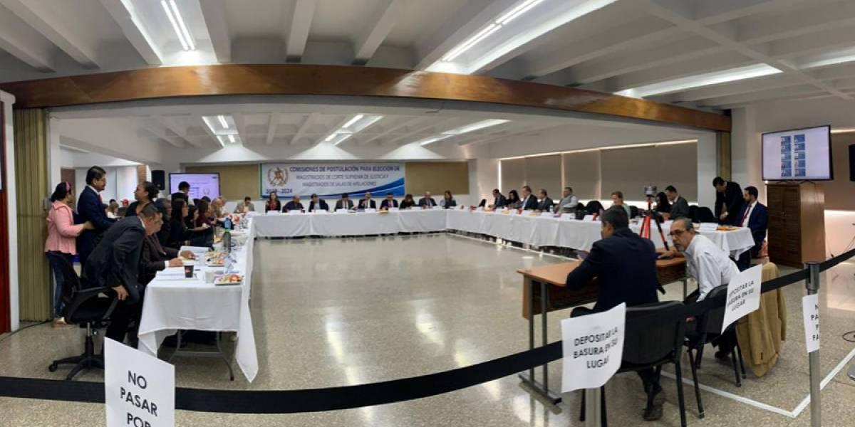 Postuladora continúa elaborando nómina de aspirantes a magistrados de Salas de Apelaciones