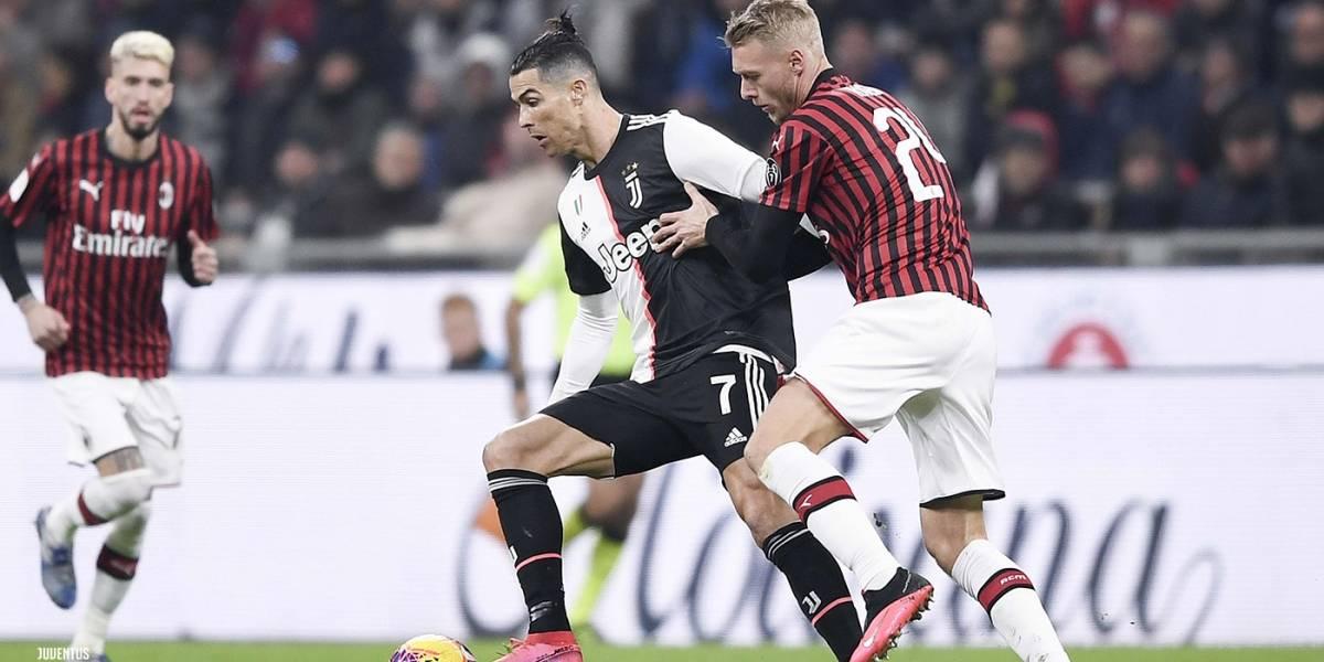 Milan vs Juventus: Cristiano Ronaldo y la racha de goles en 2020