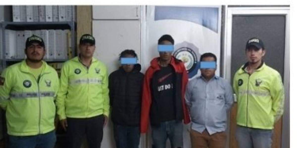 Quito: Tres detenidos por la muerte de una persona reportada como desaparecida