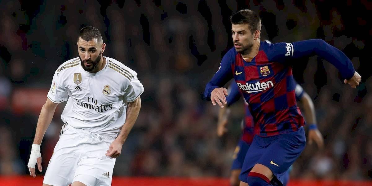 El Clásico entre Real Madrid y Barcelona contará con Fan Fest en la CDMX