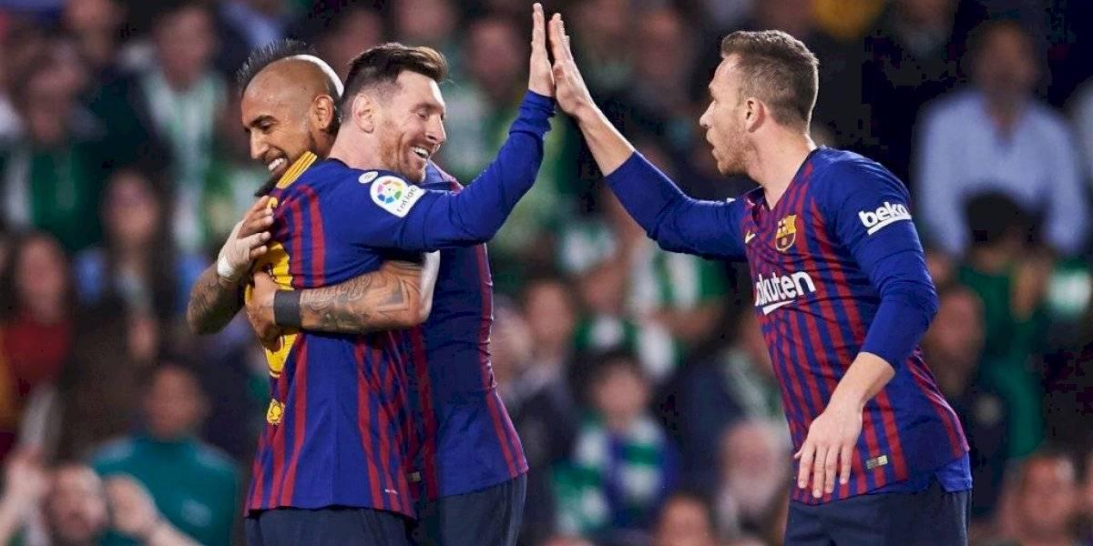 Té para tres: Arturo Vidal pelea palmo a palmo un lugar en el Barcelona más ofensivo que planea Quique Setién