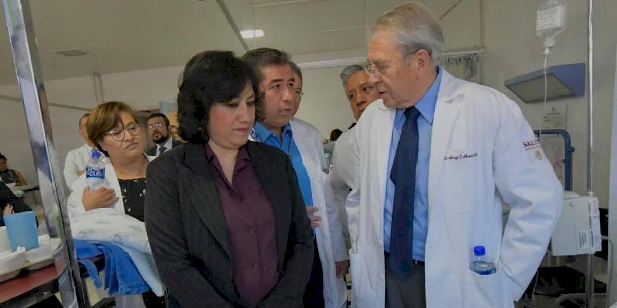 Salud y Función Pública supervisan funcionamiento del Hospital Juárez