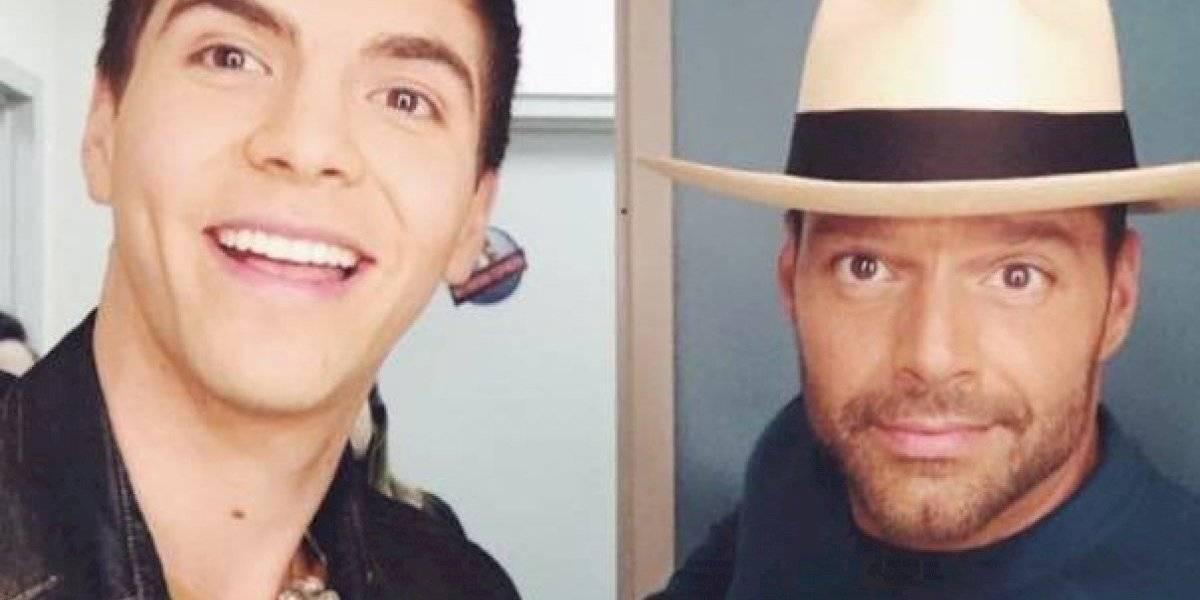 Ricky Martin y su ahijado musical coinciden en Viña del Mar