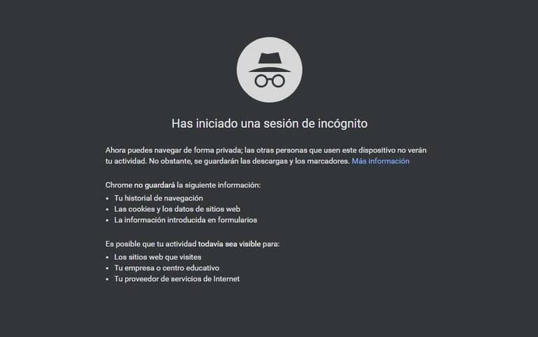 Google Incógnito